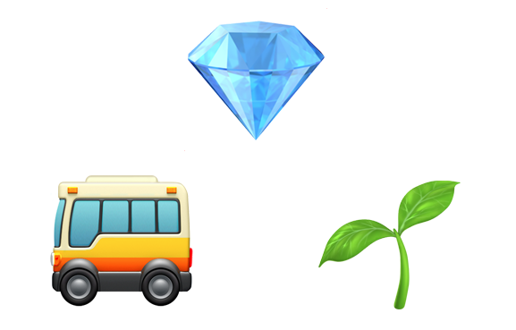 Bus, Diamond, Grass - Elisha's Riddle